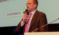 Deutsche Börse, Stefan Höfer, Key-Account-Manager auf der Preisverleihung. Foto: Deloitte
