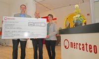 Mercateo spendet für Neubau Freie Schule Anhalt