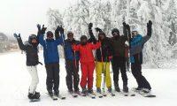 Skiwochenende Gruppenfoto
