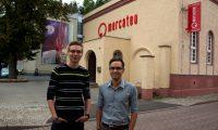 Die ehemaligen Bachelorstudenten und neuen Mercateo-Mitarbeiter Robert und Christian
