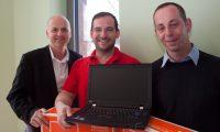 Mercateo unterstützt die Freie Schule Anhalt mit Laptops.