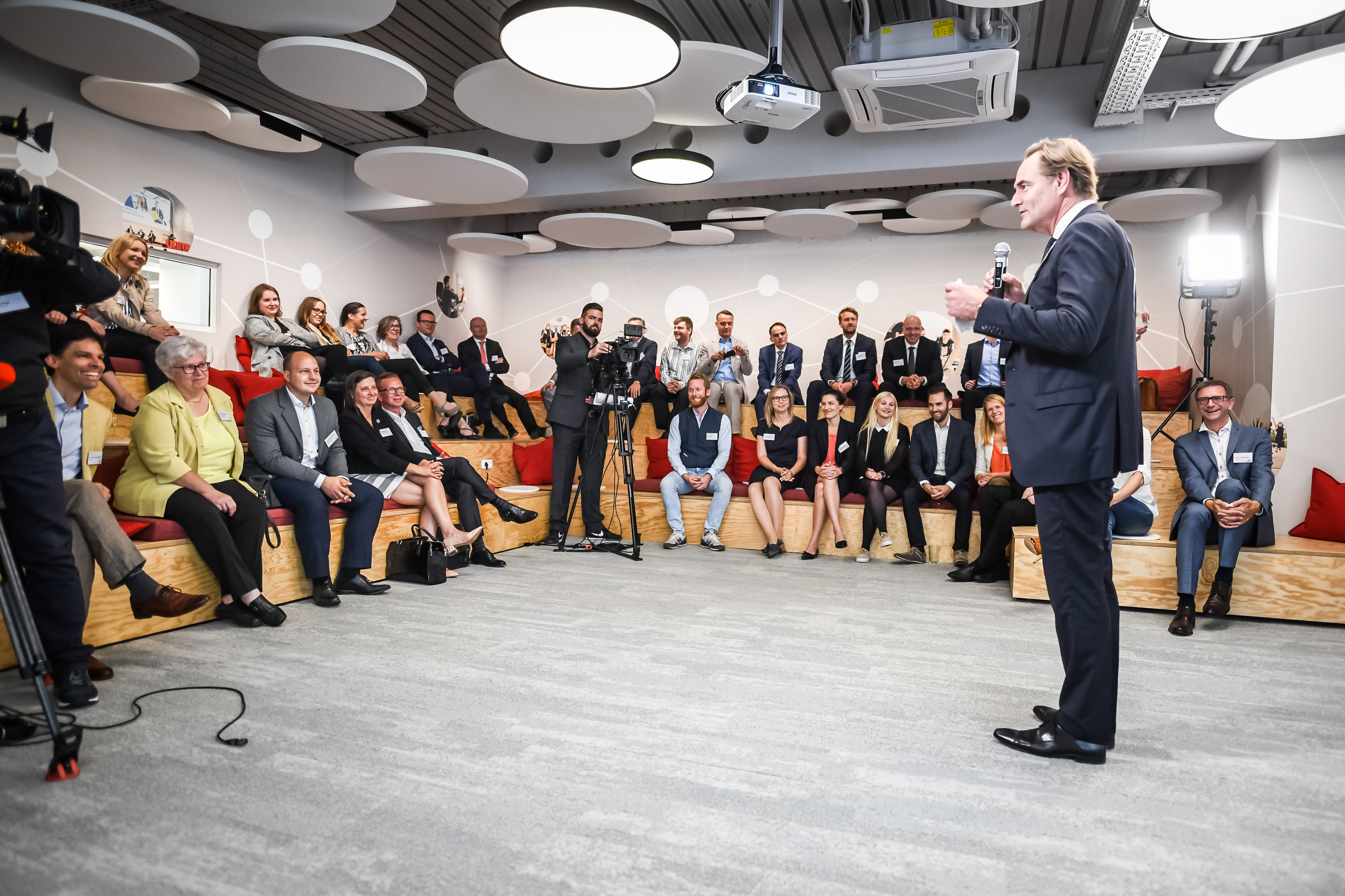 Einweihung Neuer Mercateo Buros In Leipzig
