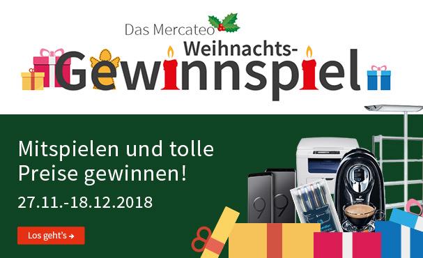 Mercateo Weihnachtsaktion 2018