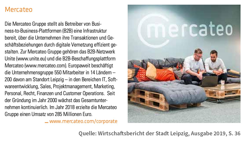 Pressespiegel Wirtschaftsbericht 2019 Stadt Leipzig