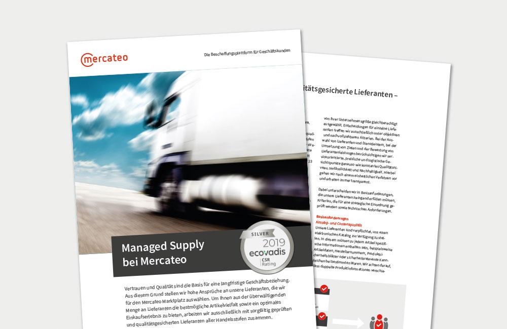 Grafik Managed Supply Booklet