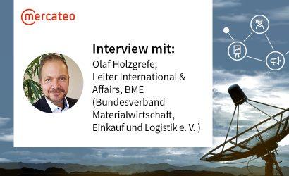 B2B-Radar mit Olaf Holzgrefe vom BME International