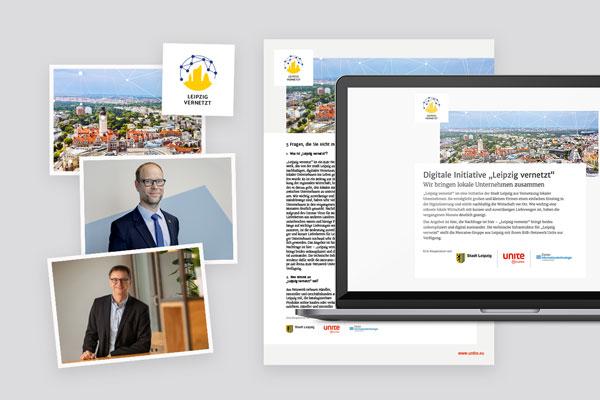 Pressematerial für Leipzig vernetzt